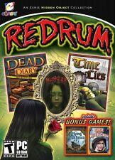 Redrum PC Games Windows 10 8 7 Vista XP Computer hidden object collection seek