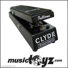 Fulltone Clyde Wah Wah Guitar Pedal - NEW - Free Ship and Gift