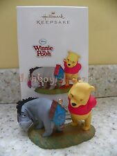 Hallmark 2011 A New Tail for Eeyore Winnie the Pooh Disney Christmas Ornament