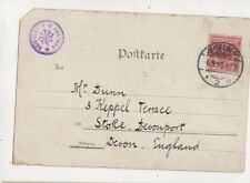 Mr Dunn Keppel Terrace Stoke Devonport Devon 1893 305b