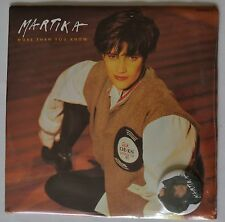 "Martika More Than You Know 7"" ltd sealed badge pack"