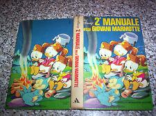 2° MANUALE DELLE GIOVANI MARMOTTE MONDADORI 1° EDIZIONE 1975 MB/OTT WALT DISNEY