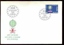 Switzerland 1962 WHO Malaria Eradication FDC #C6416