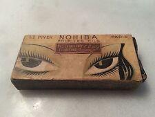 Rare et ancien mascara L.T .Piver, NOHIBA pour les cils, présentation provisoire