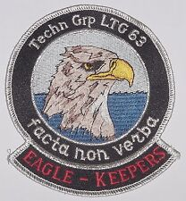 Luftwaffe Aufnäher Patch Technische Gruppe LTG 63  EAGLE - KEEPERS ........A2237