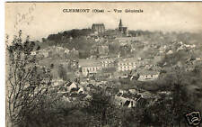 CPA 60 CLERMONT  vue générale