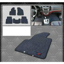Ruzen Premium Car Mat Carpet Dark Gray & Black Line For 07 10 Hyundai Elantra