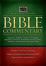 Bible Commentary-KJV (2005, Hardcover)