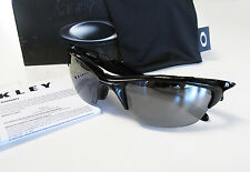 OAKLEY New Half Jacket 2.0 Polished Black / Black Iridium Sunglasses OO9144-01