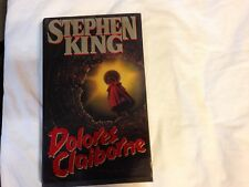 Dolores Claiborne by Stephen King Hardcover 1993