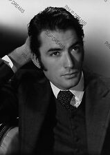 Vintage Photo Wall Art Print of Movie Star Legend Gregory Peck Poster Re-print