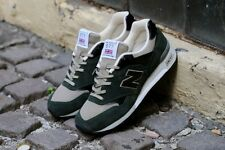 New Balance M577DKG Shoes 'Made in England' Green/Black/Tan Size 10  RARE!!!