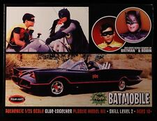 2014 DC 1966 BATMAN ADAM WEST ERA BATMOBILE 1/25 SCALE MODEL KIT MOC