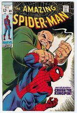 Amazing Spider-Man #69 strict NM- 9.2 High-Grade- Appearance Kingpin