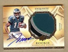 2009 EXQUISITE JEREMY MACLIN RC AUTO 4 COLOR PATCH 054/225!!