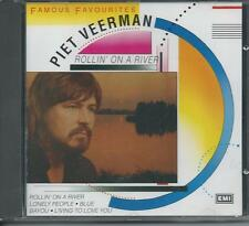 PIET VEERMAN - Rollin'on a river (FAMOUS FAVOURITES) CD 13TR (EMI BOVEMA) 1990