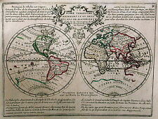 Antique map, Le Globe Terrestre