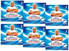 12 Pads Mr. Clean MAGIC ERASER Multi Use Cleaning Sponges Kitchen Bathroom 43515