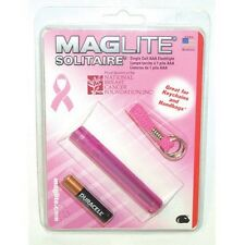 Maglite National Breast Cancer Solitare Flashlight Pink