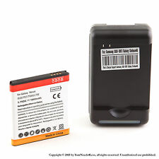 1900mAh Li-ion battery for Samsung Galaxy S2 T989; SGH-I727; I515 + Charger