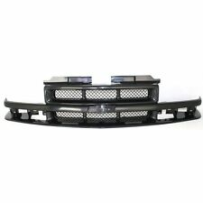 Grille For 98-2003 Chevrolet S10 2001-2005 Blazer Textured Black Plastic