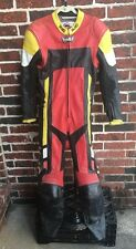 Vintage HJC Cirotech Racing Gear One Piece Racing Suit Leathers Display Or Use