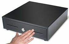 Cash Register Drawer Cash Box with Money Tray Push Button Cash Drawer Heavy Duty