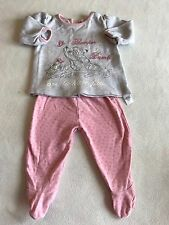 Baby Girls Clothes 3-6 Months - Cute Disney Bambi Pyjamas -