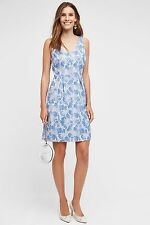 ANTHROPOLOGIE NWT SZ 6 WILLOW LAKE DRESS BY MOULINETTE SOEURS REV'R FAVORITE!