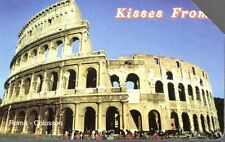 42-Scheda telefonica Phonecard Telecom Kisses from Roma Colosseo sc. 12/2004
