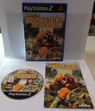 Console Game Play SONY Playstation 2 PS2 Play PAL CABELA'S DANGEROUS ADVENTURES