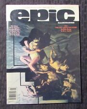 1985 EPIC ILLUSTRATED Magazine v.1 #31 VF+ John Byrne Galactus