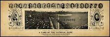 "1906 Chicago Cubs World Champions Baseball Vintage Panoramic Photo 19"" Long"