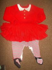 baby girls Christmas sleepsuit 0-3months  excellent condition