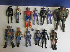 vintage BIKER MICE FROM MARS ACTION FIGURE SET lot modo throttle vinnie 859