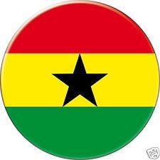5 x sticker 5cm auto moto velo valise pc portable drapeau Rond Ghana