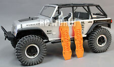 AXIAL SCX10 Jeep Honcho Deadbolt  Scale RECOVERY RAMPS Extraction LADDER Orange