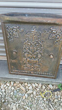 Antique Cast-Iron Fire Place Summer Cover flame