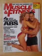 MUSCLE & FITNESS bodybuilding muscle magazine/DENNIS NEWMAN & MINNA LESSIG 8-99