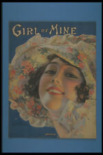 305026 Girl Of Mine Copyright 1919 A4 Photo Print