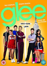 GLEE COMPLETE SERIES 4 DVD Box Set All Episodes from Fourth Season UK Sealed