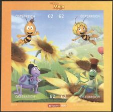 "Autriche 2014 ""maya l'abeille""/abeilles/insectes/caricatures/films/animation 4v m/s at1045"