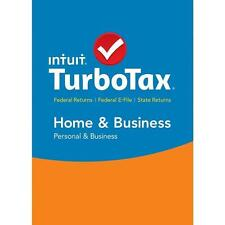 TurboTax Home & Business 2016