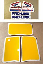 Stickers / Decals Honda XR250R - XRR 250 (85)