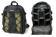 Canon Deluxe 200eg Black & Green Photo Backpack Only For Canon EOS SLR Cameras