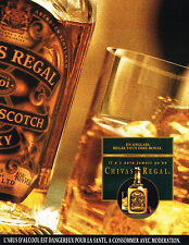 PUBLICITE  1992   CHIVAS  REGAL whisky