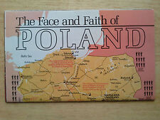National Geographic Map The Face and Faith of Poland April 1982