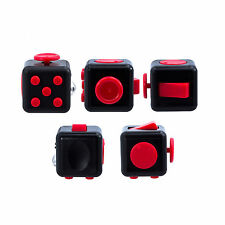 Red IN STOCK NEW 2016 FIDGET CUBE STRESS ANXIETY RELIEF 6 SIDED DESK TOY USA