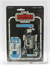 Vintage Star Wars Empire Strikes Back ESB R2D2 MOC AFA 80 ARCHIVAL Kenner