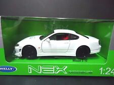 Welly Nissan 240SX Silvia S15 White 1/24